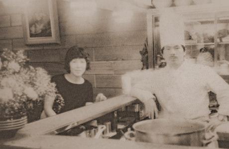 創業時の写真