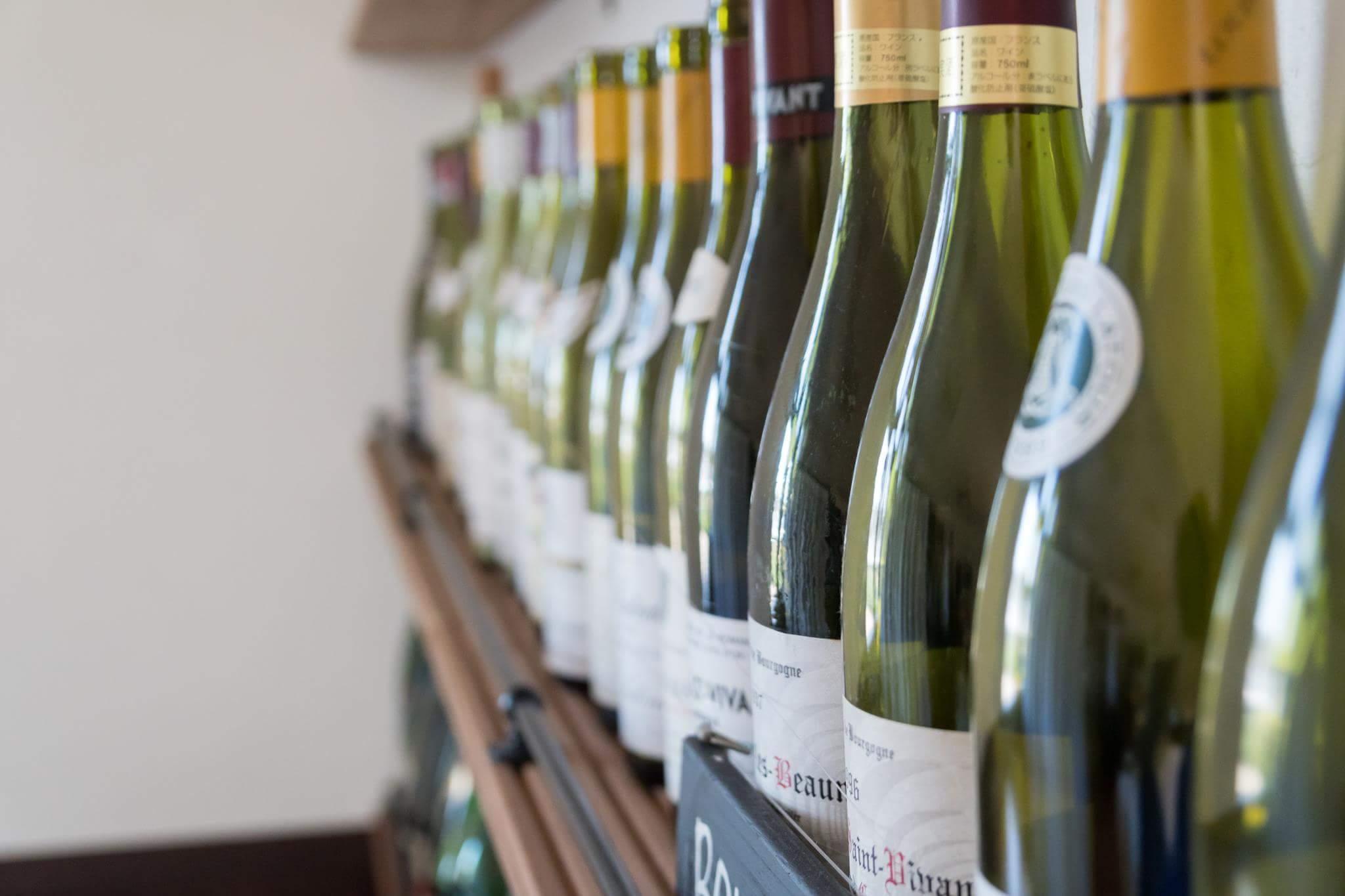 ワイン販売を開始しました。