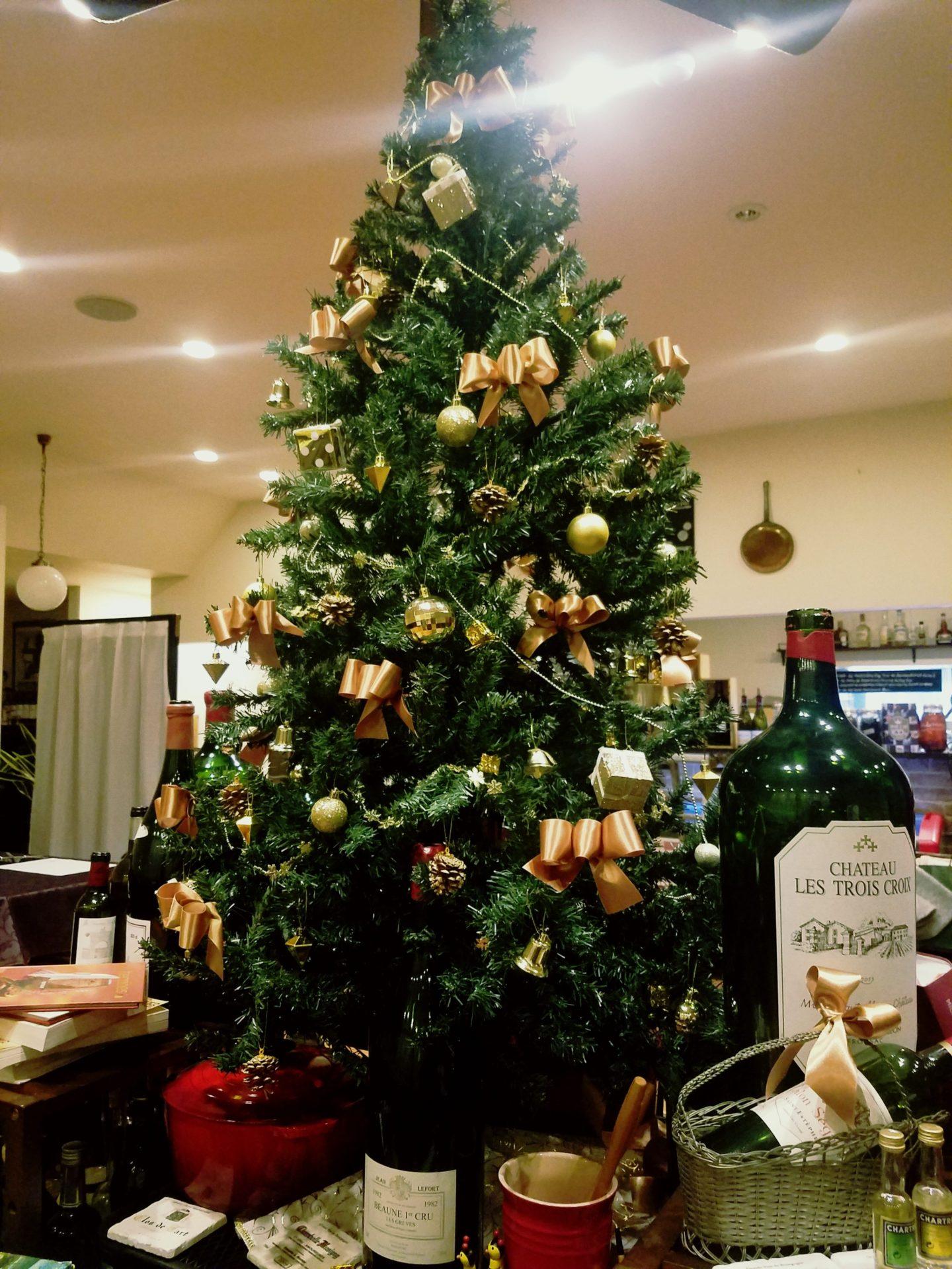 内装がクリスマスモードになりました!