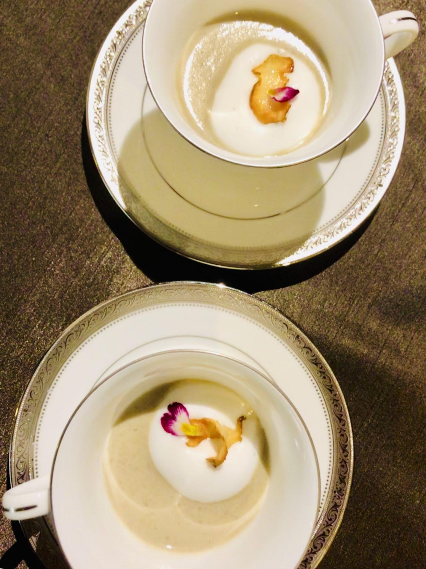 宗像産 菊芋のポタージュ